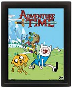 Adventure Time Framed 3D Effect Poster Pack Goodies 26 x 20 cm (3)