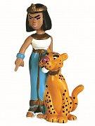 Asterix Figurka Kleopatra a panter