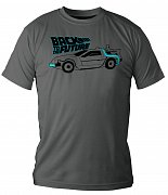 Back to the Future T-Shirt DeLorean