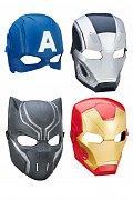 Captain America Civil War Role Play Masks 2016 Wave 1 Assortment (6)