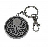 Cthulhu Metal Keychain Cthulhu Tribal 5 cm