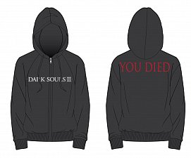 Dark Souls III Hooded Sweater You Died
