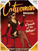 DC Comics Bombshells Glass Poster Catwoman 30 x 40 cm