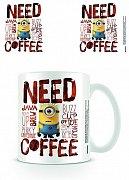 Despicable Me Mug Need Coffee