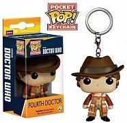 Doctor Who (Pán času) Klíčenka Čtvrtý doktor