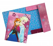 Frozen Elastic Band Folder A4