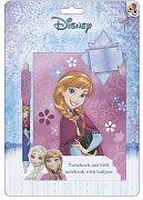 Frozen Notebook with Pen Anna