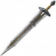 Hobit Bitva pěti armád Replika Meč Thorina Pavéza
