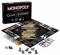 Hra o trůny Monopoly Collectors Edition *Stolní hra v angličtině*