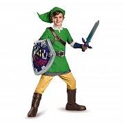 Legend of Zelda Kids Deluxe Costume Link