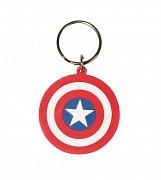 Marvel Comics Gumová klíčenka Štít Kapitán Amerika