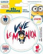 Mimoni Samolepky Vive Le Minion - 10 ks