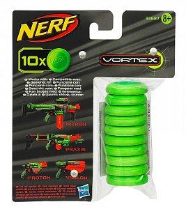 NERF Vortex Munice - 10 kusů - 1