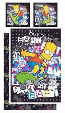 Simpsonovi Povlečení Bart grafiti