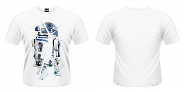 Star Wars Episode VII T-Shirt R2-D2 Chopped