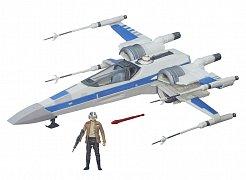 Star Wars Epizoda VII Vesmírná stíhačka a figurka 2015 Resistance X-Wing