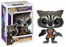 Strážci galaxie Figurka s kývací hlavou POP! Rocket Raccoon