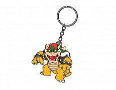 Super Mario Bros. Gumová klíčenka Bowser