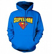 Superman Hooded Sweater Blockletter
