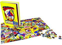 Superman Jigsaw Puzzle Comic