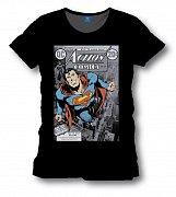 Superman Triko Action Comics (černá)