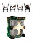 The Hobbit The Battle of the Five Armies Shotglass 4-Pack