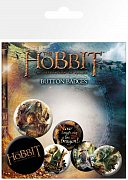 The Hobbit The Desolation of Smaug Pin Badges 6-Pack Mix