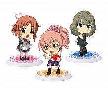 The Idolmaster Cinderella Girls ChiBi Figurky Nadšení II - 8 kusů