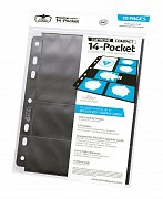 Ultimate Guard 14-Pocket Compact Pages Standard Size & Mini American Black (10)