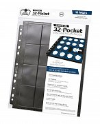 Ultimate Guard 32-Pocket Pages Mini American Black (10)