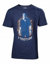 Uncharted 4 T-Shirt A Thief's End Boxcover