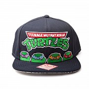 Želvy Ninja Kšiltovka Čtyři želvy