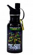 Želvy Ninja Lahev na pití (černá)