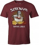 Rick and Morty T-Shirt Szechuan Dipping Sauce