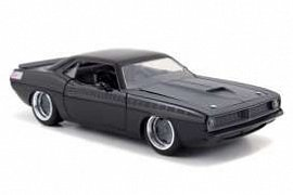 Fast & Furious Diecast Model 1/24 1970 Plymouth Letty\'s Barracuda