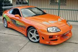 Fast & Furious Diecast Model 1/24 1995 Toyota Supra