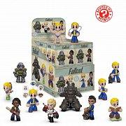 Fallout Mystery Minis Vinyl Mini Figures 6 cm Display (12)
