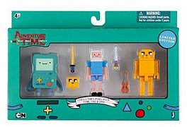 Adventure Time Trading Figurkas 3-Pack 7 cm