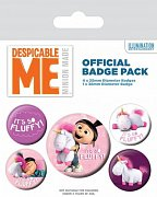 Despicable Me Pin odznaky 5-Pack It\'s So Fluffy