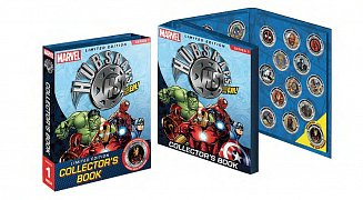 Marvel Universe Hubsnaps Collector´s Book Serie 1
