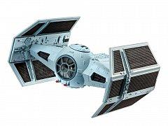 Star Wars Episode VII Model Kit 1/121 Darth Vader\'s Tie Fighter 9 cm