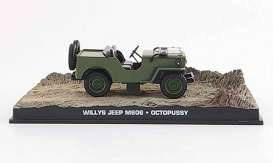 James Bond Octopussy Diecast Modell 1/43 1953 Willy\'s Jeep