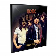 AC/DC Crystal Clear Obraz Highway to Hell 32 x 32 cm