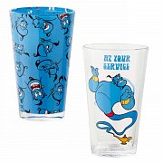 Aladdin Pint Glass 2-Pack Service