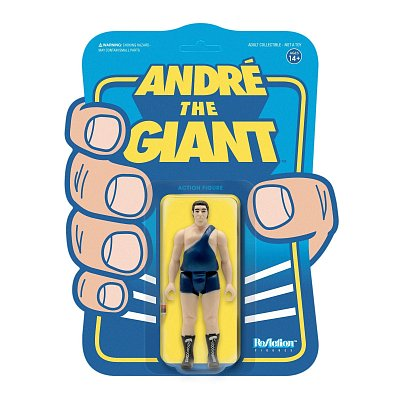 André the Giant ReAction Action Figure Wave 1 André the Giant Singlet 10 cm