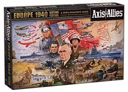 Avalon Hill Board Game Axis & Allies Europe 1940 2nd Edition english