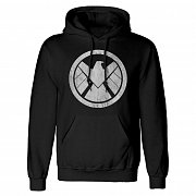 Avengers Hooded Sweater Shiled Logo Distressed