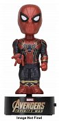 Avengers Infinity War Body Knocker Bobble-figurka  Spider-Man 16 cm
