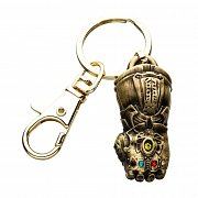 Avengers Infinity War Metal Keychain 3D Inifinty Gauntlet