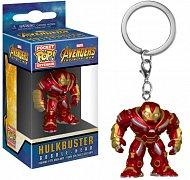 Avengers Infinity War Pocket POP! Vinyl klíčenka  Hulkbuster 4 cm